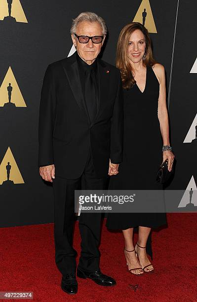 Actor Harvey Keitel and wife Daphna Kastner attend the 7th annual Governors Awards at The Ray Dolby Ballroom at Hollywood Highland Center on November...