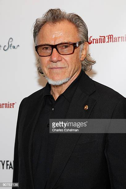 "Actor Harvey Keitel attends the Apparition and Vanity Fair's US premiere Of ""Bright Star"" at The Paris Theatre on September 14, 2009 in New York City."