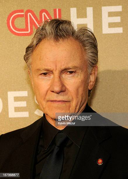 Actor Harvey Keitel attends the CNN Heroes An All Star Tribute at The Shrine Auditorium on December 2 2012 in Los Angeles California...