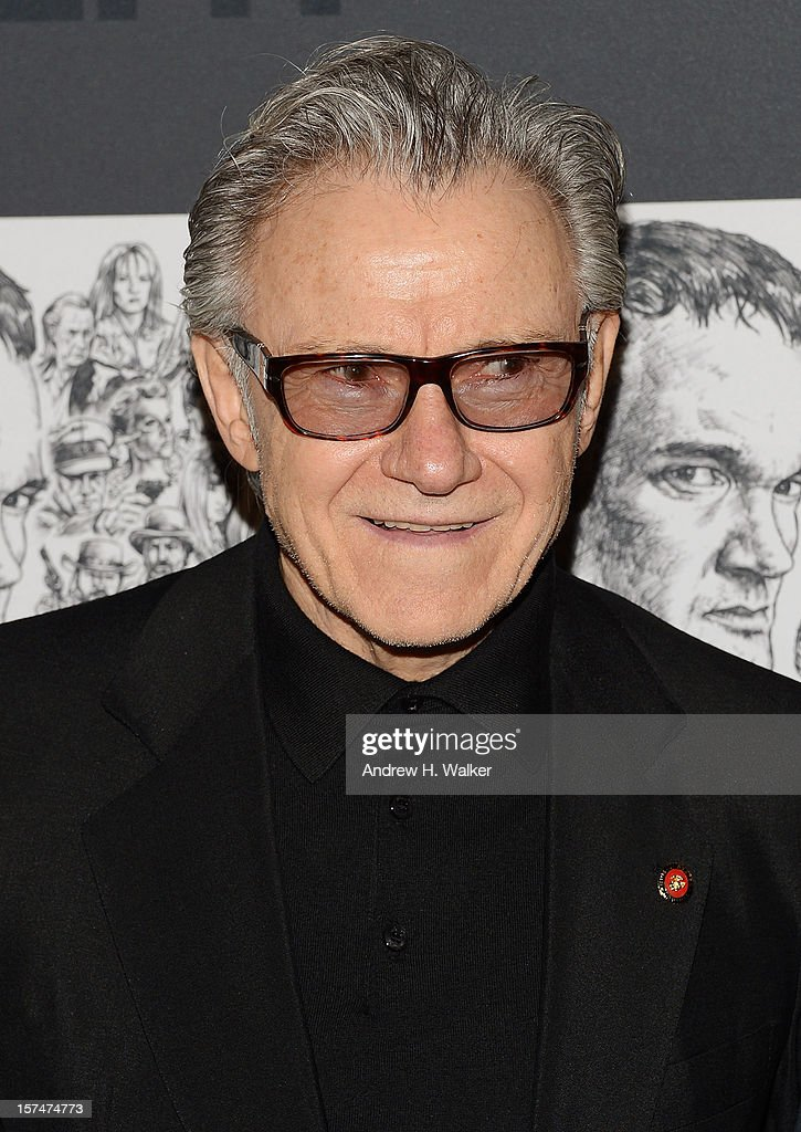 Actor Harvey Keitel attends The Museum of Modern Art Film Benefit Honoring Quentin Tarantino at MOMA on December 3, 2012 in New York City.