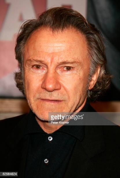 Actor Harvey Keitel attends the opening night of the Broadway play Julius Caesar on April 3 2005 in New York City