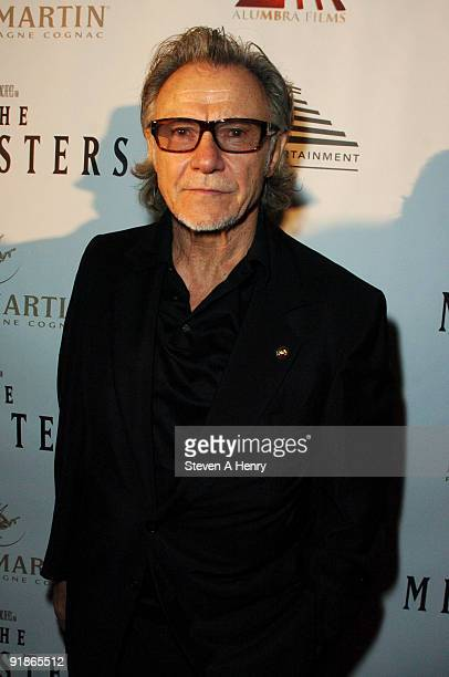 Actor Harvey Keitel attends the premiere of The Ministers at Loews Lincoln Square on October 13 2009 in New York City