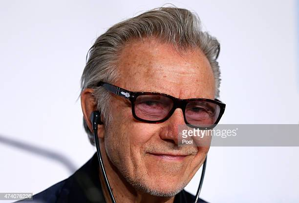 "Actor Harvey Keitel attends the press conference for ""Youth"" during the 68th annual Cannes Film Festival on May 20, 2015 in Cannes, France."