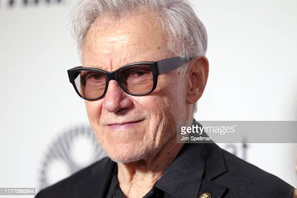 "Actor Harvey Keitel attends the ""The Irishman"" premiere during the 57th New York Film Festival at Alice Tully Hall, Lincoln Center on September 27,..."