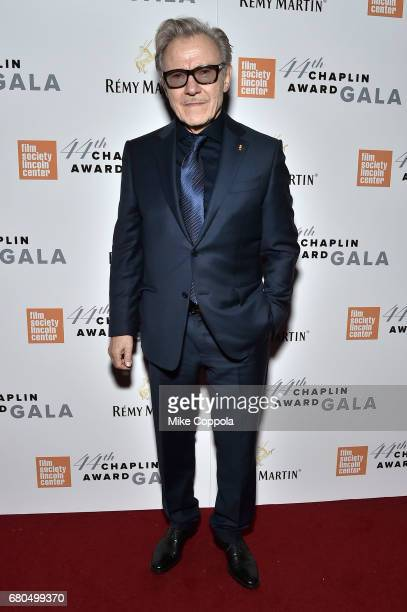 Actor Harvey Keitel backstage during the 44th Chaplin Award Gala at David H. Koch Theater at Lincoln Center on May 8, 2017 in New York City.