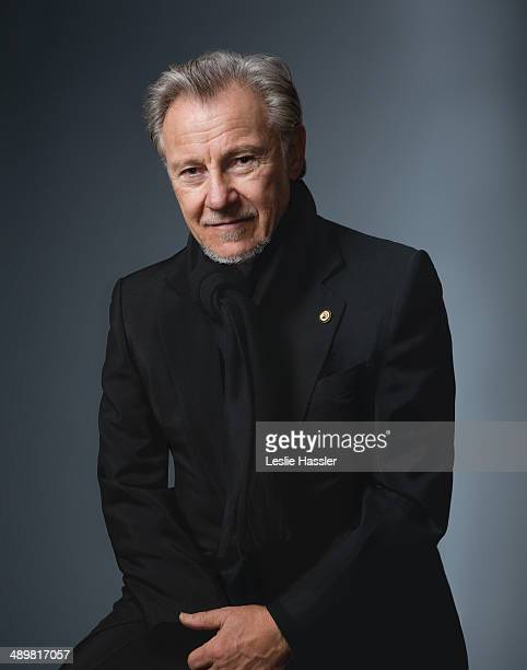 Actor Harvey Keitel is photographed for Downtown Magazine on December 20 in New York City. COVER IMAGE.