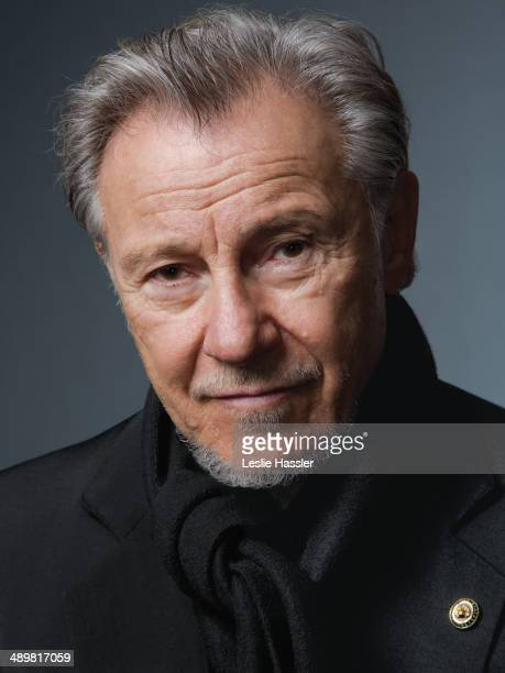 Actor Harvey Keitel is photographed for Downtown Magazine on December 20 in New York City. PUBLISHED IMAGE.