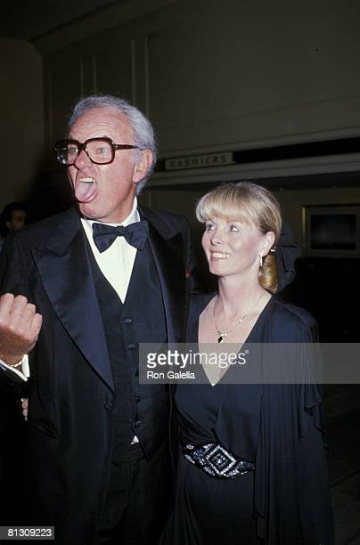 Actor Harvey Korman and wife Deborah Fritz attending Partially Eyesighted Benefit on June 2 1989 at the Beverly Hilton Hotel in Beverly Hills...