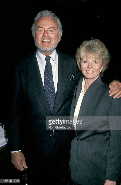 Actor Harvey Korman and wife Deborah Korman attending Seventh Annual Broadcasting Festival on March 5 1990 at the Los Angeles Museum of Art in Los...