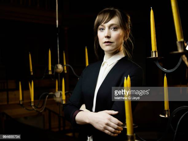 Actor Hattie Morahan is photographed for the Times on November 13 2014 in London England
