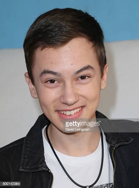 Actor Hayden Byerly attends Knott's Berry Farm's Countdown To Christmas And Snoopy's Merriest Tree Lighting at Knott's Berry Farm on December 5 2015...