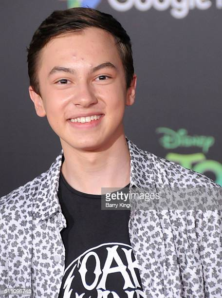 Actor Hayden Byerly attends the Premiere of Walt Disney Animation Studios' 'Zootopia' at the El Capitan Theatre on February 17 2016 in Hollywood...
