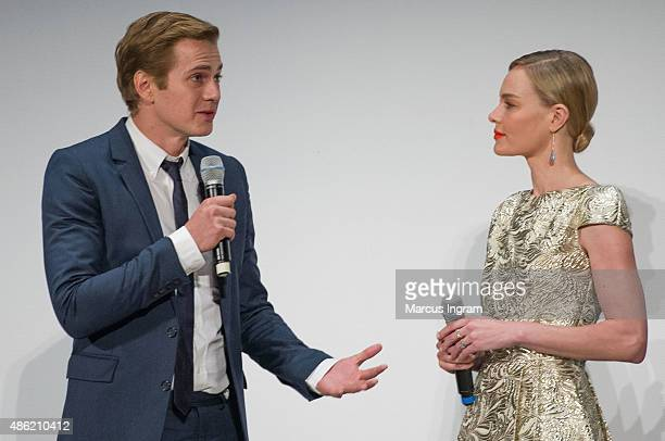 Actor Hayden Christensen and Actress Kate Bosworth attend '90 Minutes In Heaven' Atlanta premiere at Fox Theater on September 1, 2015 in Atlanta,...