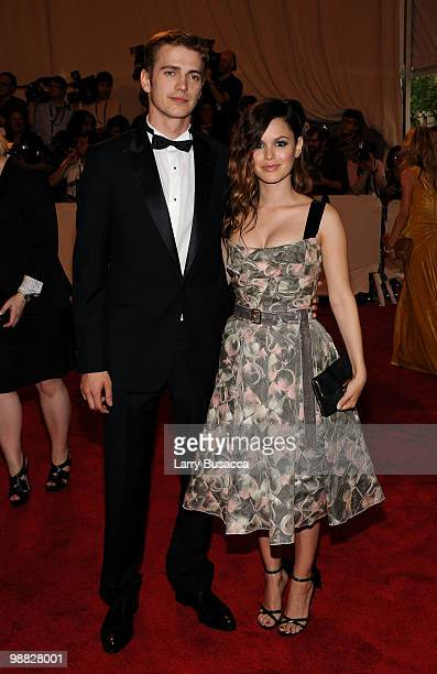 Actor Hayden Christensen and actress Rachel Bilson attend the Costume Institute Gala Benefit to celebrate the opening of the 'American Woman...