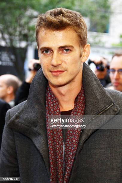 Actor Hayden Christensen arrives at the American Heist Premiere during the 2014 Toronto International Film Festival held at the Princess of Wales...