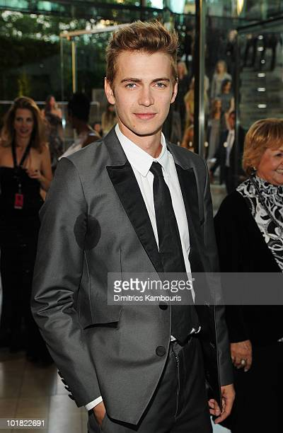 Actor Hayden Christensen attends the 2010 CFDA Fashion Awards at Alice Tully Hall Lincoln Center on June 7 2010 in New York City