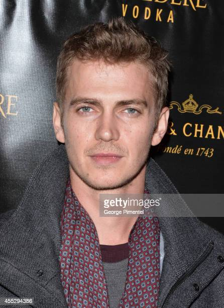 Actor Hayden Christensen attends the American Heist premiere after party hosted by Ink Entertainment and YYZ Group held at Cube Nightclub on...