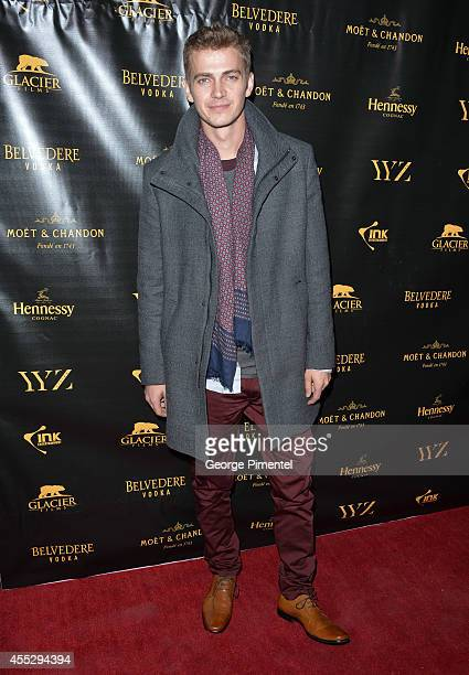 Actor Hayden Christensen attends the 'American Heist' premiere after party hosted by Ink Entertainment and YYZ Group held at Cube Nightclub on...