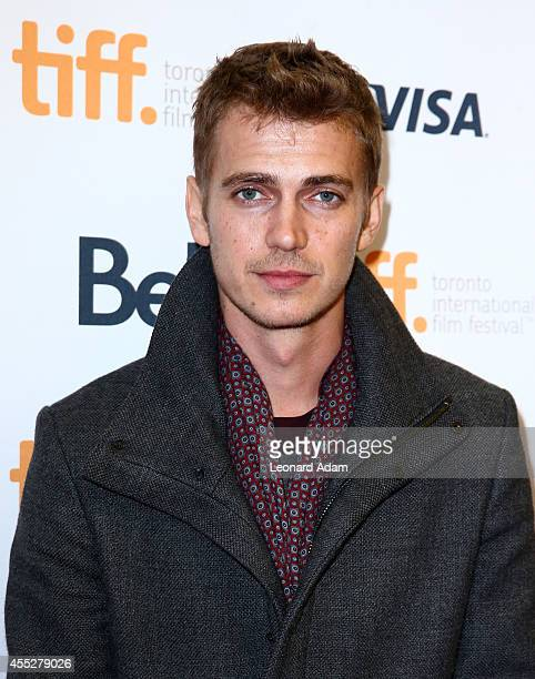 Actor Hayden Christensen attends the American Heist premiere during the 2014 Toronto International Film Festival at Princess of Wales Theatre on...