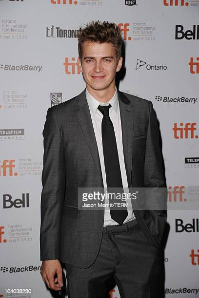 Actor Hayden Christensen attends the Vanishing On 7th Street Premiere at Ryerson Theatre during the Toronto International Film Festival on September...