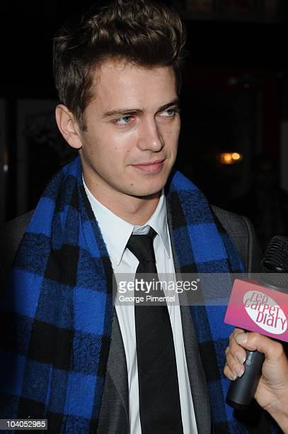 Actor Hayden Christesen attend the Vanishing On 7th Street After Party at Brassaii during the 35th Toronto International Film Festival on September...