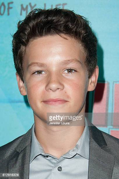 Actor Hayden Summerall arrives at the Premiere of CBS Films' Middle School The Worst Years Of My Life at the TCL Chinese 6 Theatres on October 5 2016...
