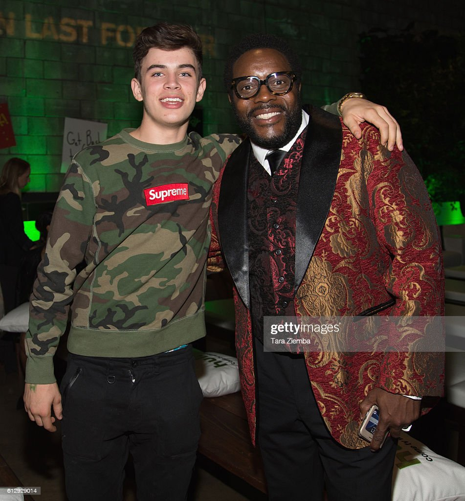 Premiere of hulus actor hayes grier and chad l coleman attend the premiere of hulus freakish kristyandbryce Gallery