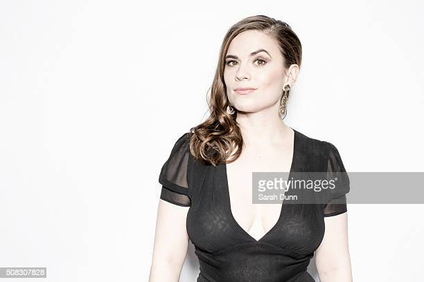 Actor Hayley Atwell is photographed for Empire magazine on March 29 2015 in London England