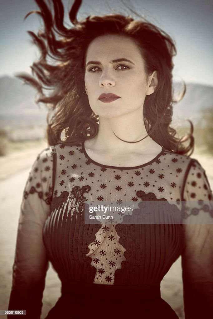 Hayley Atwell, Self assignment, March 9, 2014 : News Photo