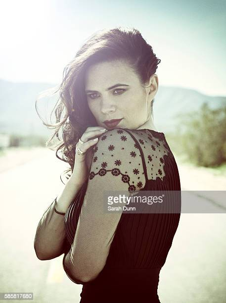 Actor Hayley Atwell is photographed on March 9 2014 in Los Angeles United States
