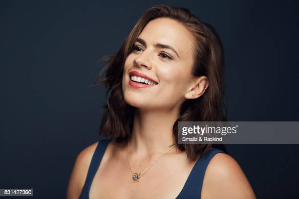 Actor Hayley Atwell of Starz's 'Howards End' poses for a portrait during the 2017 Summer Television Critics Association Press Tour at The Beverly...
