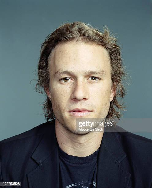 Actor Heath Ledger poses for a portrait session at the Toronto Film Festival in September 2006 for Life Magazine
