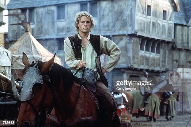 Actor Heath Ledger stars as William Thatcher in Columbia Pictures 'A Knight's Tale'