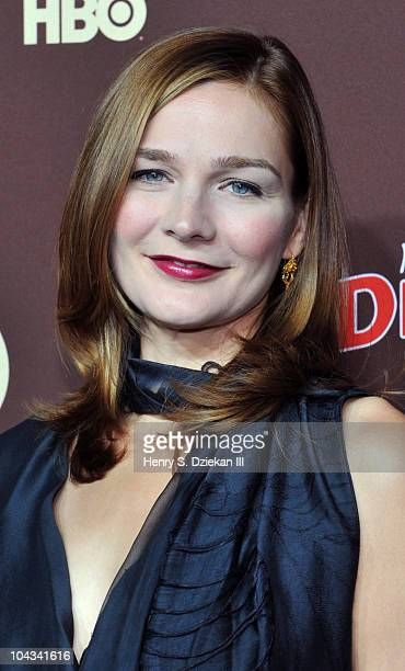 Actor Heather Burns attends HBO's Bored To Death premiere at Jack H Skirball Center for the Performing Arts on September 21 2010 in New York City