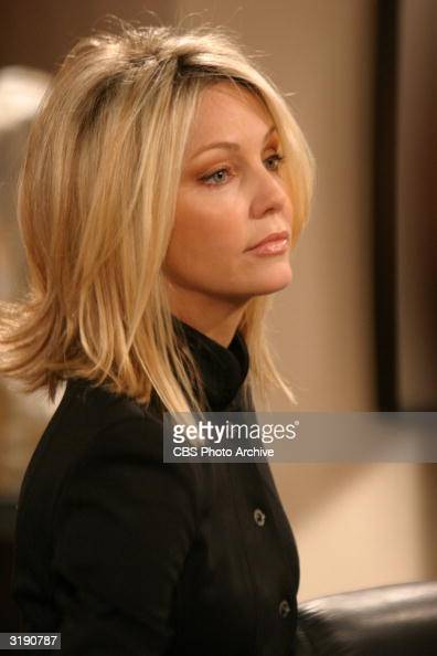 Actor Heather Locklear In A Guest Appearance From The Tv