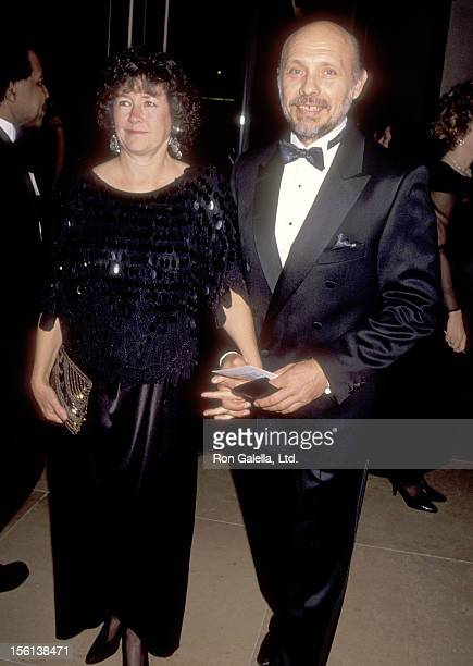 Actor Hector Elizondo and wife Carolee Campbell attend the 48th Annual Golden Globe Awards on January 19 1991 at Beverly Hilton Hotel in Beverly...