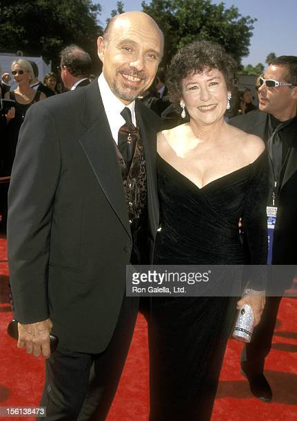 Actor Hector Elizondo and wife Carolee Campbell attend the 50th Annual Primetime Emmy Awards on September 13 1998 at Shrine Auditorium in Pasadena...