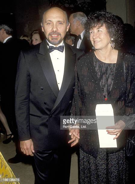 Actor Hector Elizondo and wife Carolee Campbell attend The Dailey Variety Salutes Army Archerd on January 29 1993 at Beverly Hilton Hotel in Beverly...