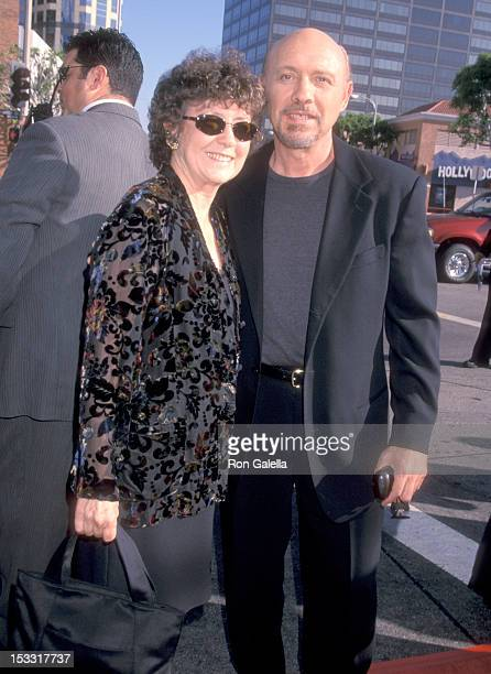 Actor Hector Elizondo and wife Carolee Campbell attend the Runaway Bride Westwood Premiere on July 25 1999 at Mann National Theatre in Westwood...