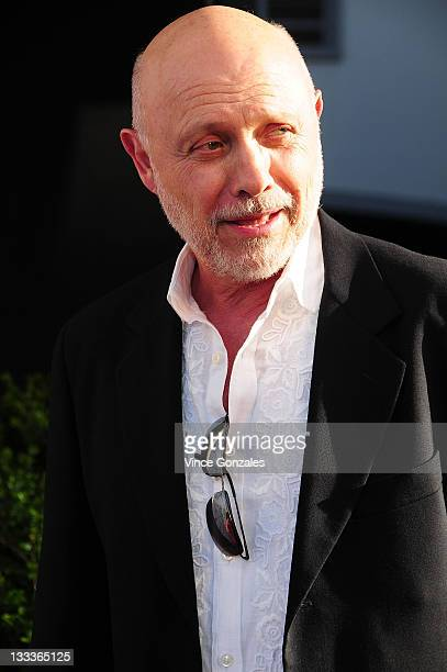 Actor Hector Elizondo arrives for the 'American Character A Photographic Journey' exhibition opening celebration at Ace Gallery on May 14 2009 in Los...