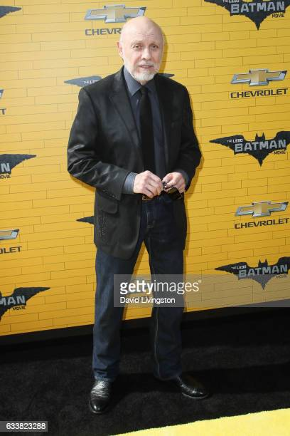 Actor Hector Elizondo attends the Premiere of Warner Bros Pictures' 'The LEGO Batman Movie' at the Regency Village Theatre on February 4 2017 in...