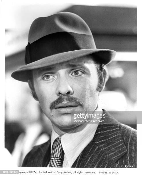 Actor Hector Elizondo on set of the United Artists movie 'Report to the Commissioner' in 1975