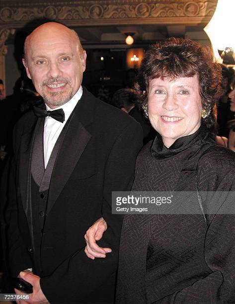 Actor Hector Elizondo poses with his wife actress Carolee Campbell during National Hispanic Media Coalitions Fifth Annual Impact Awards Gala at The...