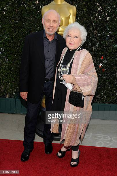 Actor Hector Elizondoa and wife Carolee Campbell attend AMPAS Tribute To Sophia Loren at AMPAS Samuel Goldwyn Theater on May 4 2011 in Beverly Hills...