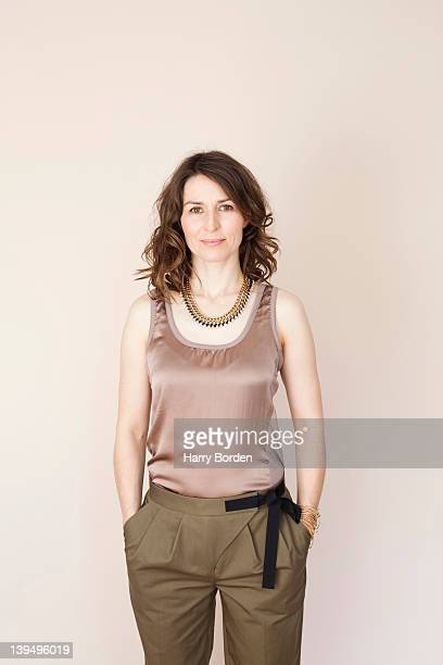 Actor Helen Baxendale is photographed for She magazine on November 18, 2010 in London, England.