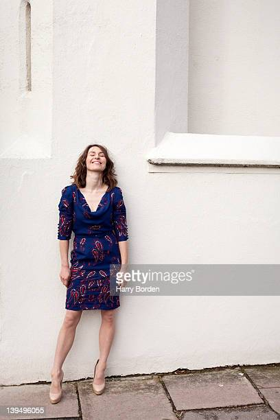 Actor Helen Baxendale is photographed for She magazine on November 18 2010 in London England