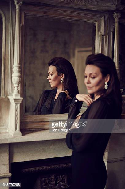Actor Helen McCrory is photographed for Harrods magazine on March 17 2014 in London England