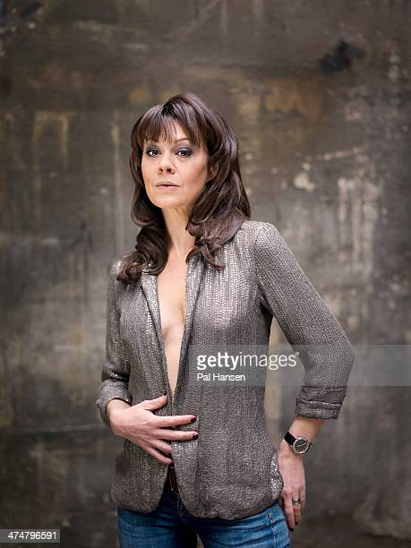 Actor Helen McCrory is photographed for the Independent on March 28 2013 in London England