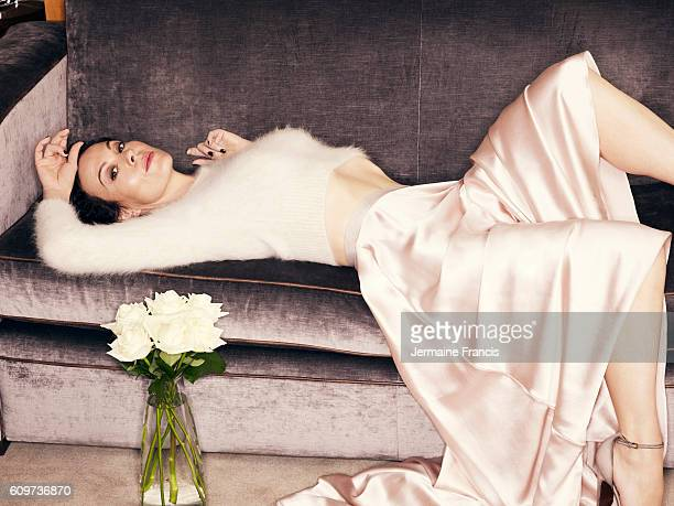 Actor Helen McCrory is photographed for the Sunday Times on August 12 2013 in London England
