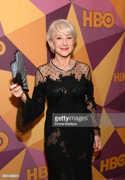 Actor Helen Mirren attends HBO's Official Golden Globe Awards After Party at Circa 55 Restaurant on January 7 2018 in Los Angeles California